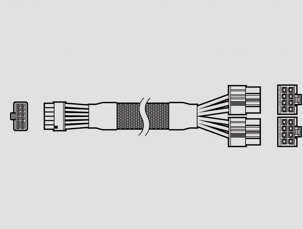 Corsair prepara un cable de 12 pines de alta calidad compatible con las RTX 30 29