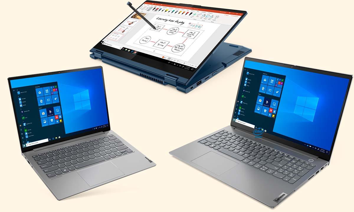 Lenovo ThinkBook: ocho nuevos modelos para todos los gustos