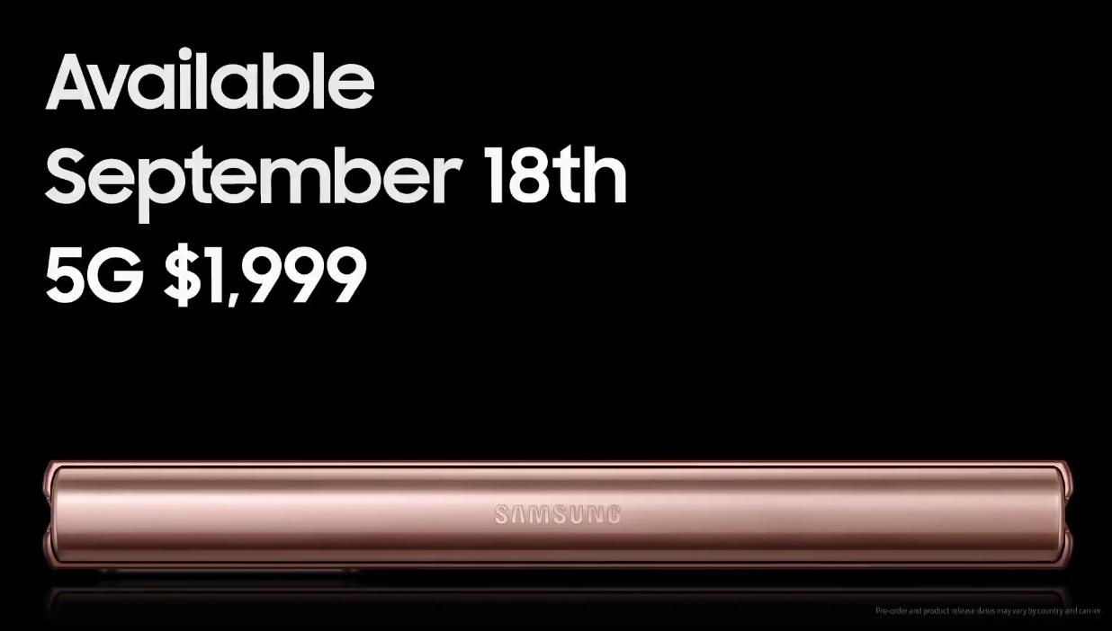 Samsung Galaxy Z Fold 2, especificaciones y precio del nuevo rey de los smartphones flexibles 52