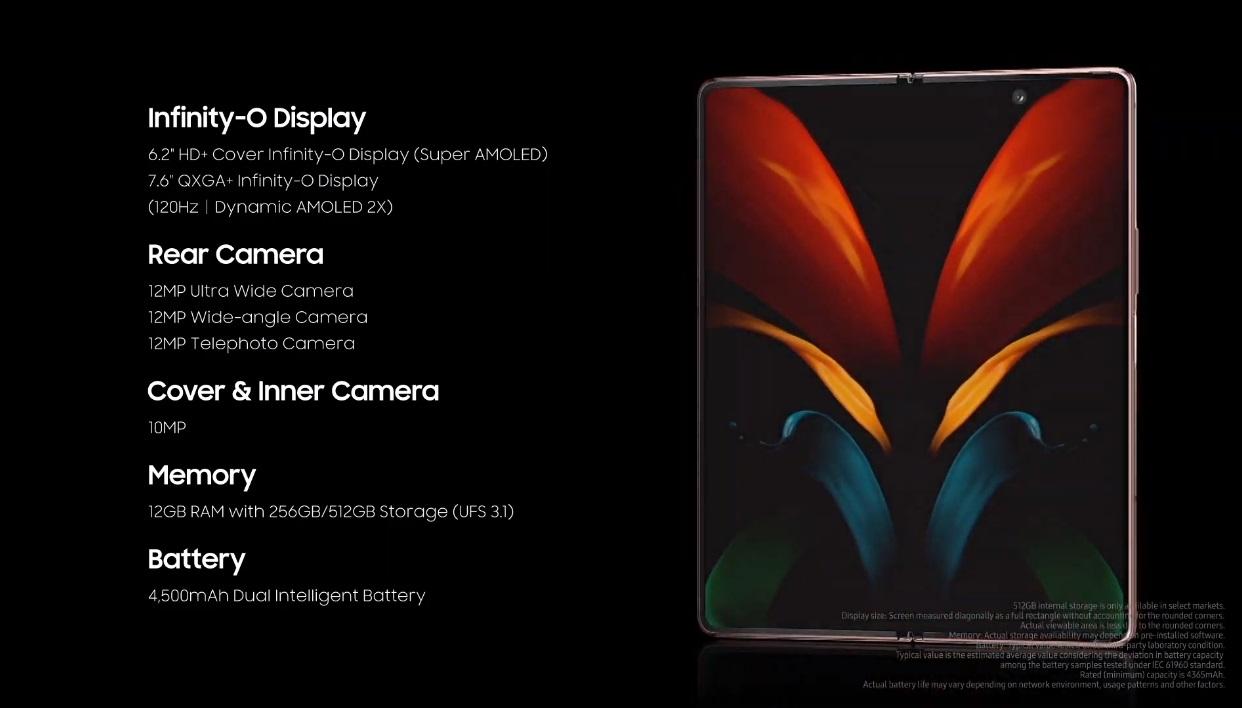 Samsung Galaxy Z Fold 2, especificaciones y precio del nuevo rey de los smartphones flexibles 46