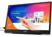 Ya está aquí el AOC 16T2, un monitor portátil con pantalla táctil centrado en la productividad 30