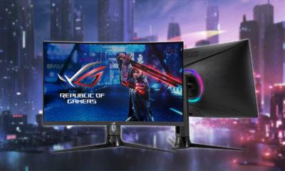 ASUS amplía su familia de monitores gaming curvos con el ROG Strix XG32VC 44