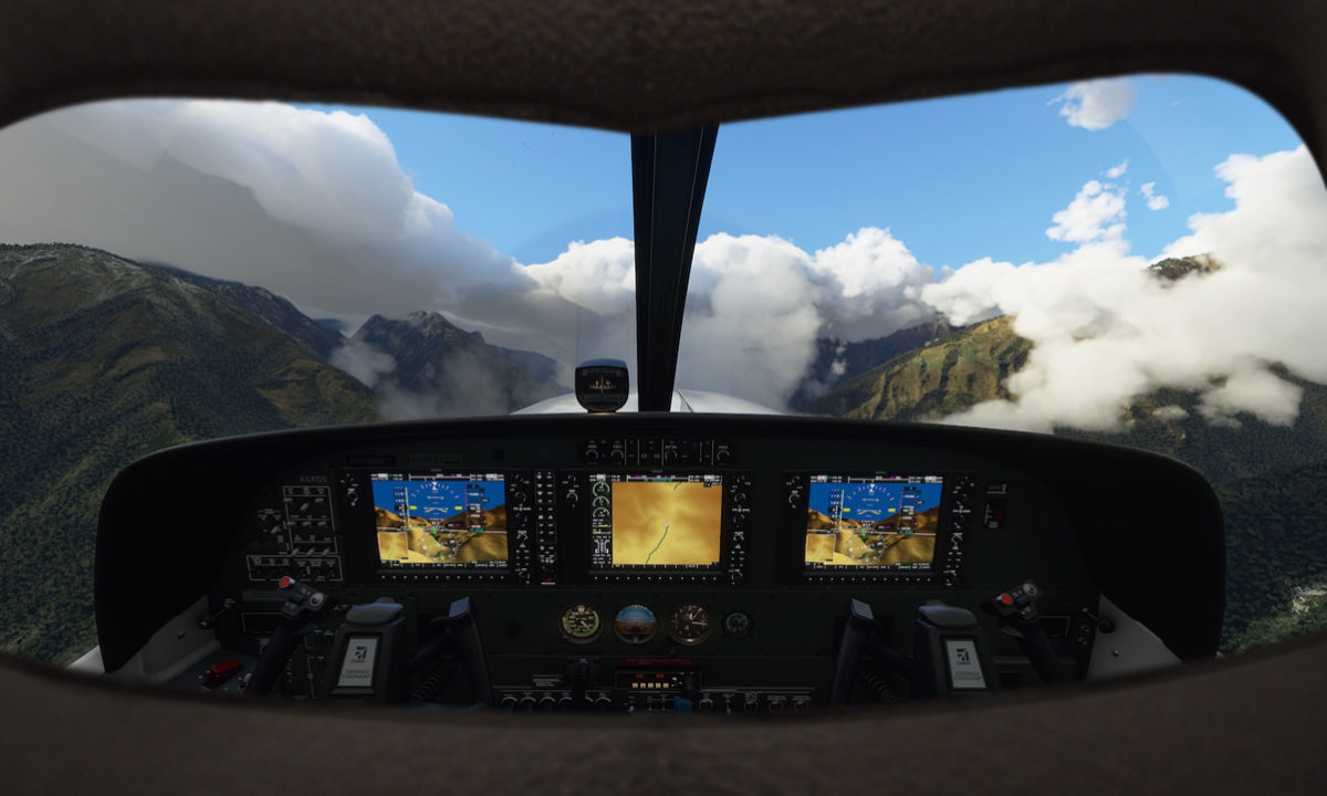 Beta Microsoft Flight Simulator VR