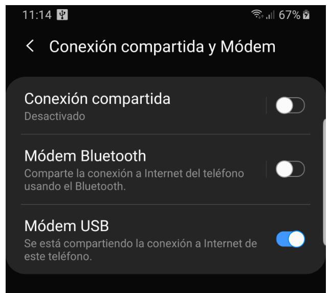 Cómo compartir la conexión a Internet de un smartphone con un PC u otros dispositivos móviles 39