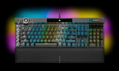 Corsair K100 RGB: rendimiento extremo para gamers