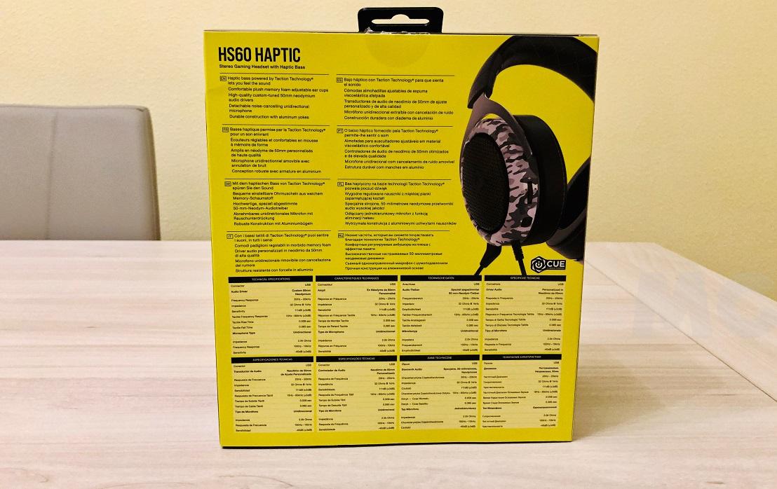 Corsair HS60 HAPTIC, análisis: siente el sonido como nunca lo habías hecho 31