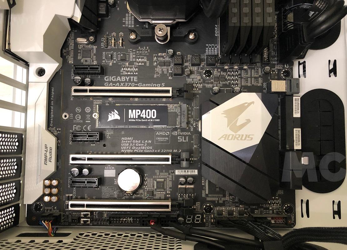 SSD Corsair MP400, análisis: la grandeza de las pequeñas cosas 44