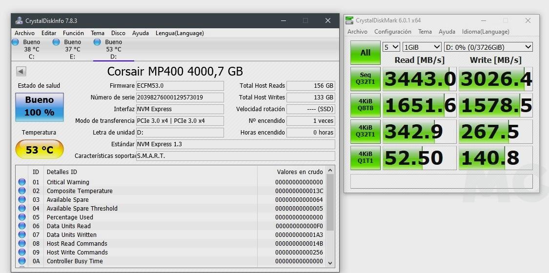 SSD Corsair MP400, análisis: la grandeza de las pequeñas cosas 48