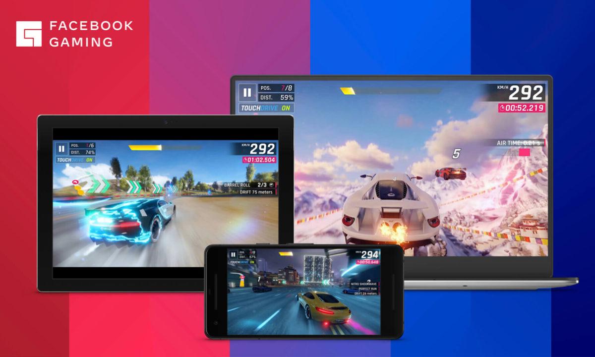 Facebook Gaming streaming juego en la nube