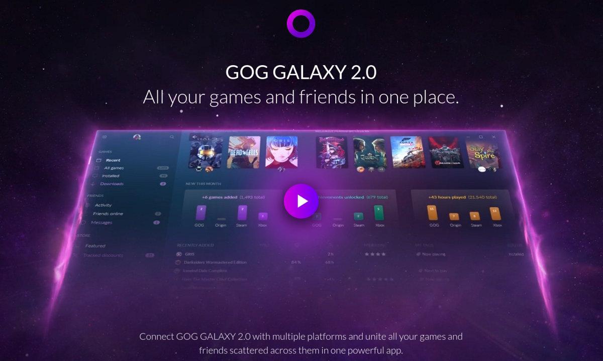 GoG añade soporte de compras multi-tienda en su nueva beta