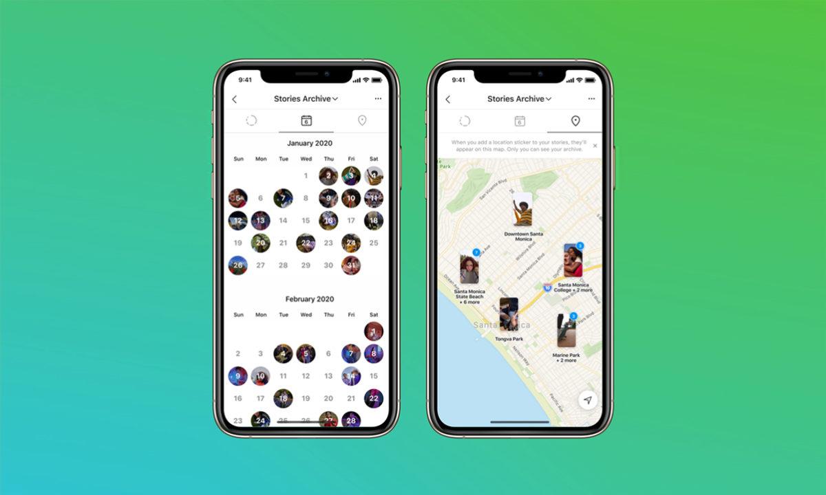 Instagram 10 años Stories Map