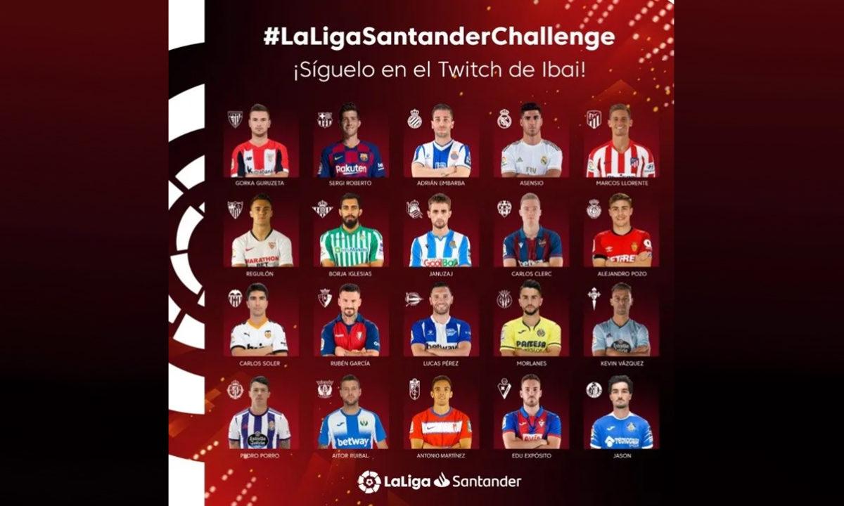 LaLiga Santander Challenge Streaming Ibai FIFA