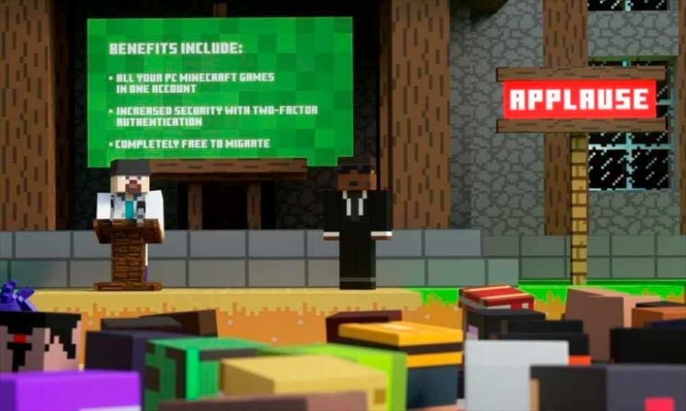 Minecraft: Adiós a las cuentas de Mojang, hola a las de Microsoft