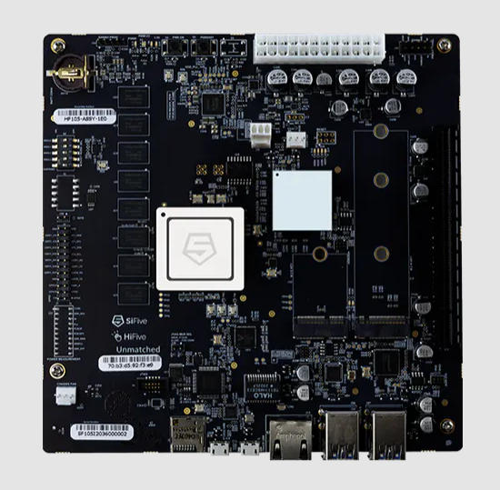 RISC-V llega a PCs con una placa de desarrollo SiFive 32