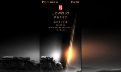 Samsung Galaxy W21 5G o Galaxy Z Fold2 Fecha China