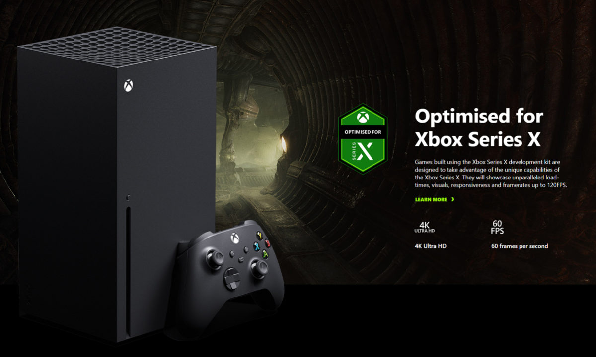 Scorn optimizado para Xbox Series X