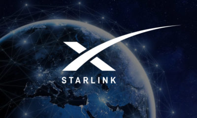 Starlink Internet Satélite Espacial