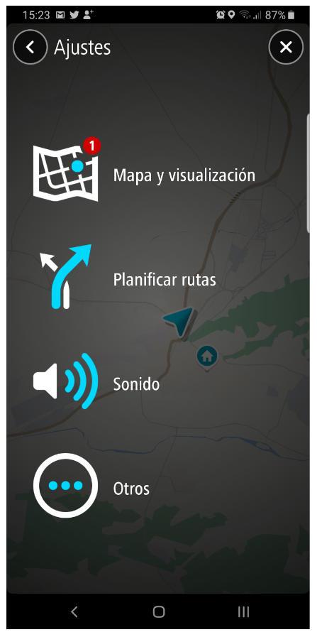 TomTom GO Navigation para Android, análisis 32