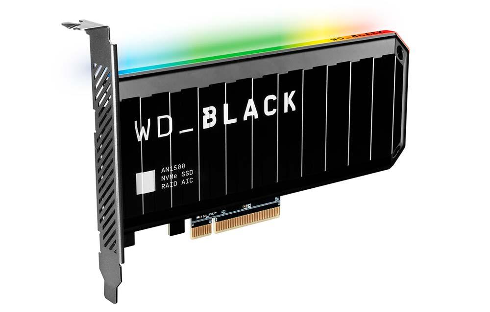 WD_ BLACK AN1500 NVMe SSD
