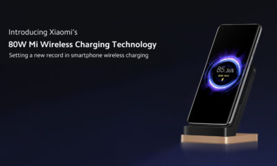 Xiaomi Mi Wireless Charging Technology 80W carga inalámbrica