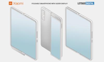 Xiaomi patente smartphone plegable pantalla deslizante