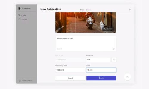 Combin scheduler programar publicaciones Instagram