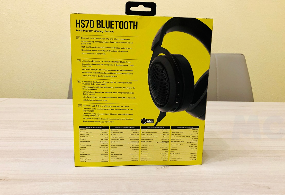 Corsair HS70 Bluetooth, análisis: sin límites 37