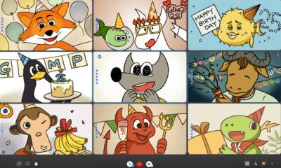 GIMP cumple 25 años