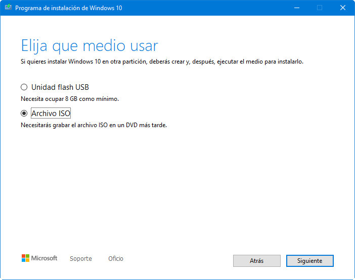 Descarga cualquier versión de Windows 10 con este script 31