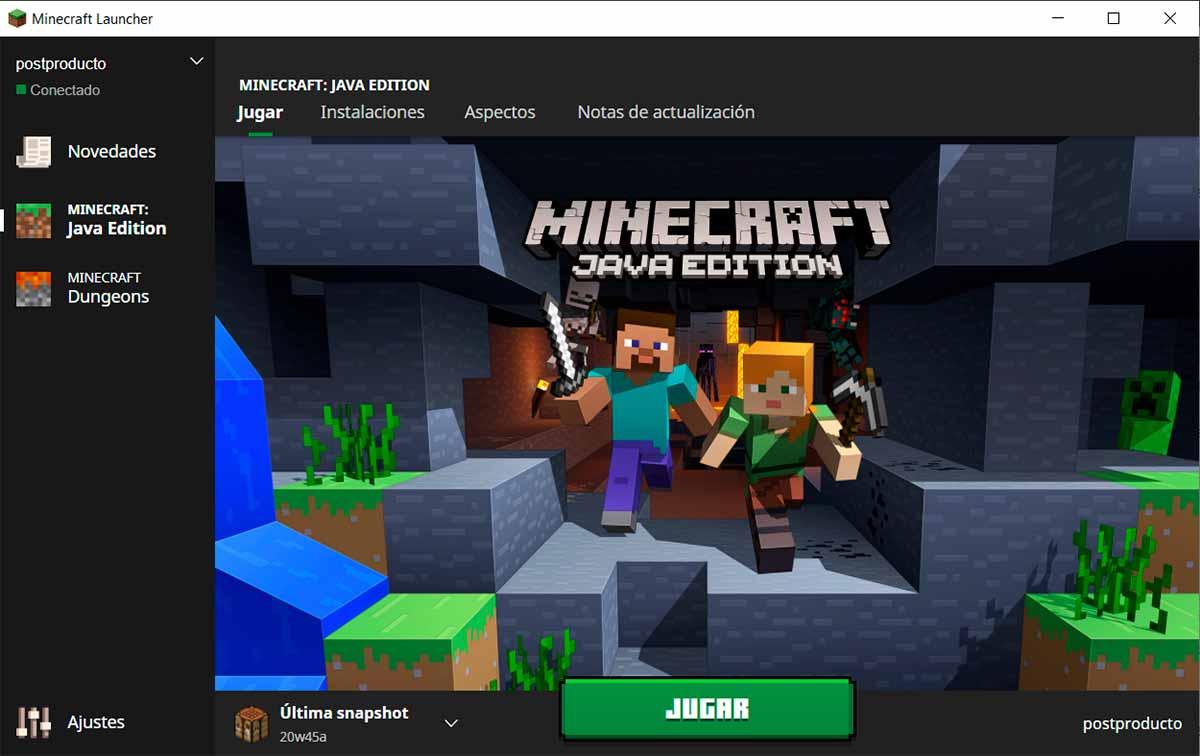 Betas de Minecraft Java: ¿cómo probarlas?