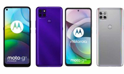 Motorola Moto G9 Power y Moto G 5G: novedades en la gama media