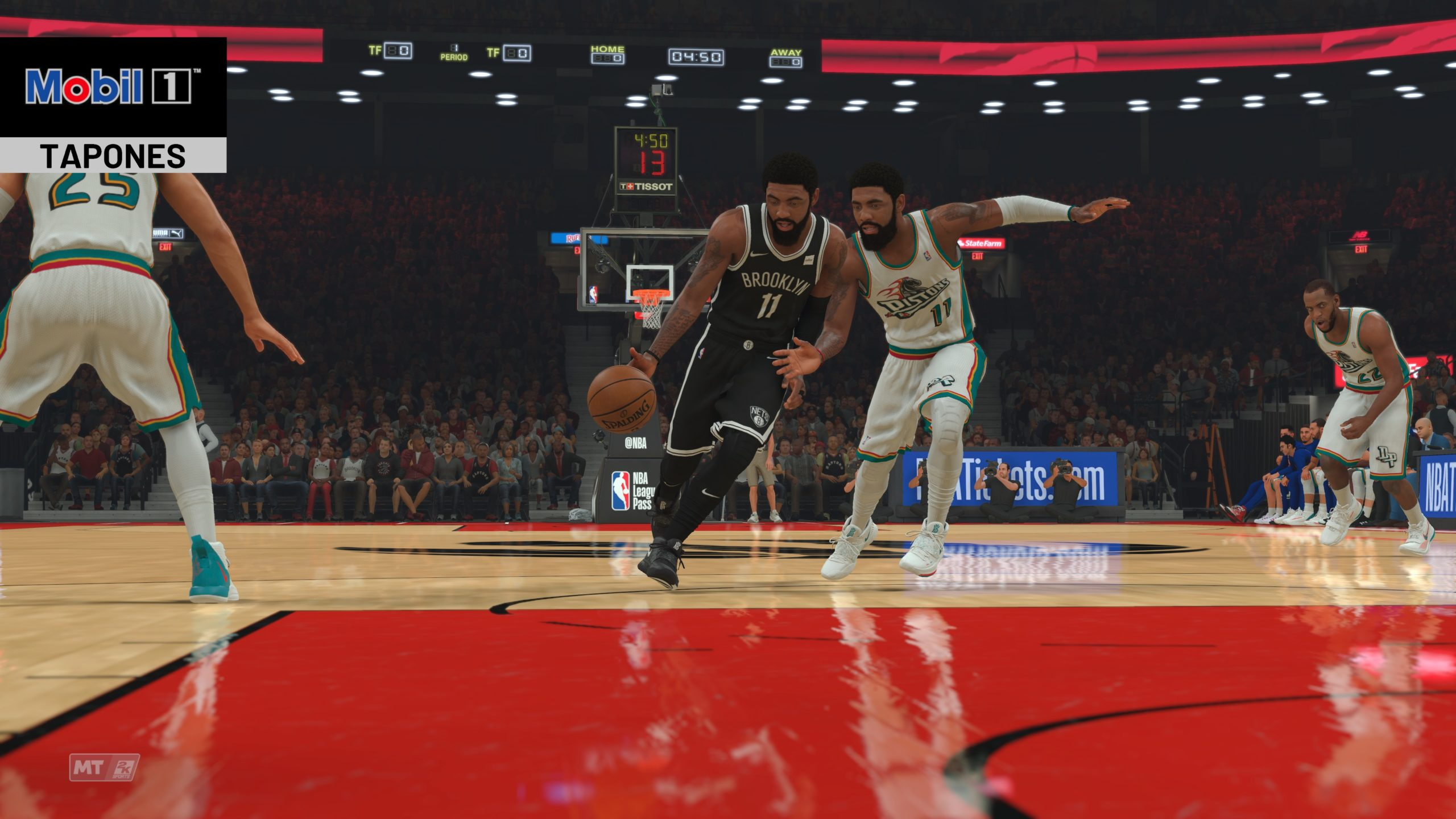 Nous analysons la NBA2K21 (Xbox One), grande salle de basket 30