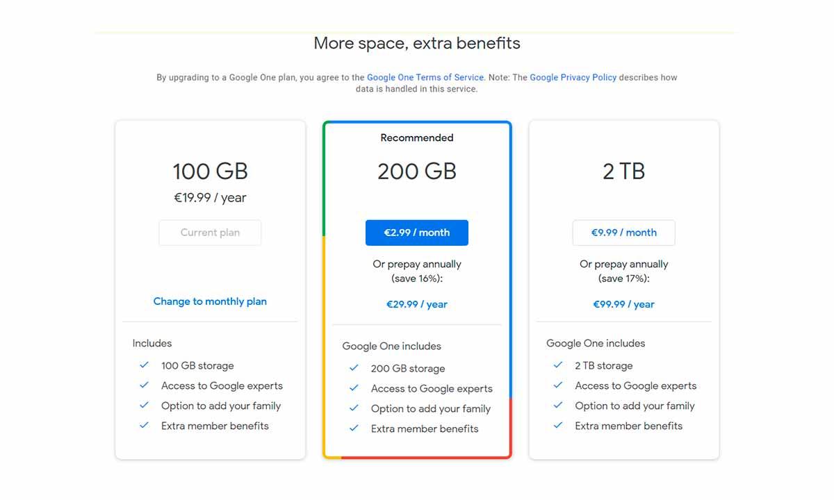 Google Fotos: adiós al backup gratuito e ilimitado de fotos
