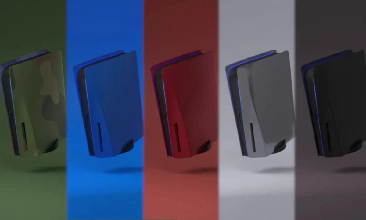 Sony retira carcasas personalizadas para PS5 PlateStation