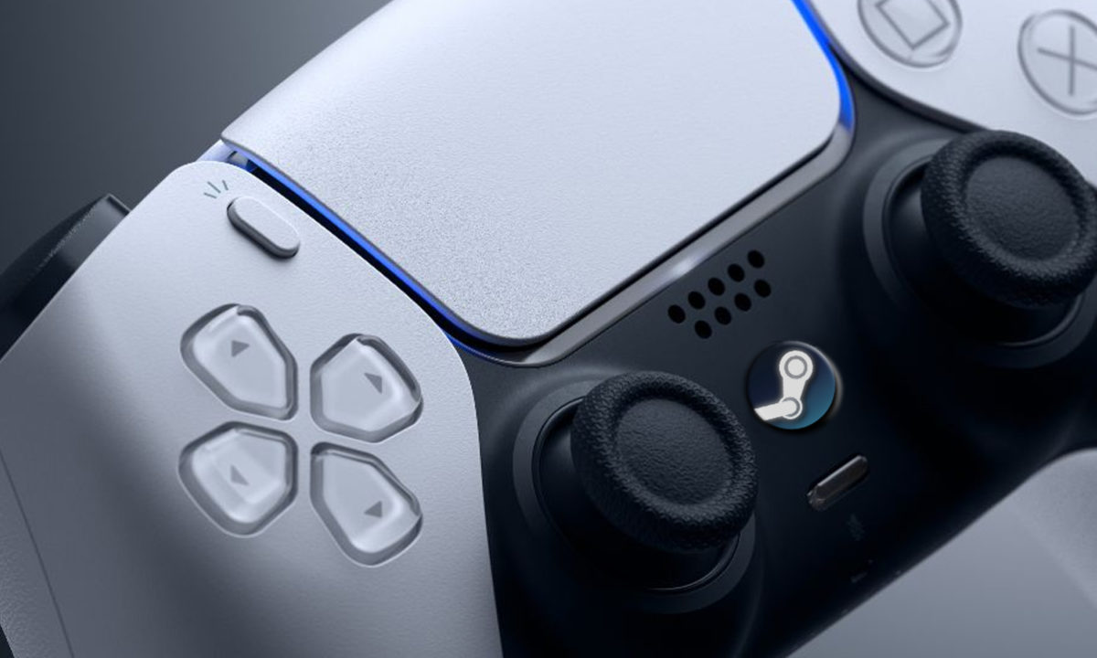 Steam DualSense PS5 PC