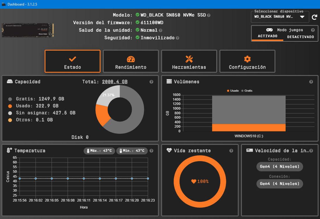 SSD WD_BLACK SN850: máximo rendimiento en almacenamiento cliente 38