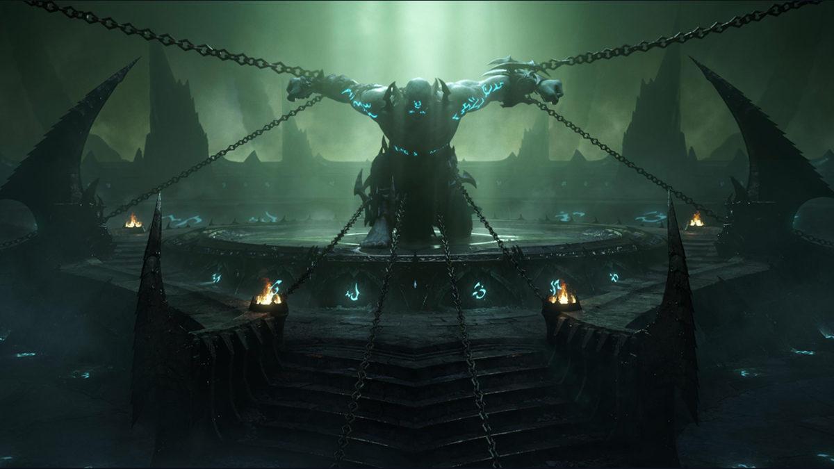 World of Warcraft Shadowlands Carcelero