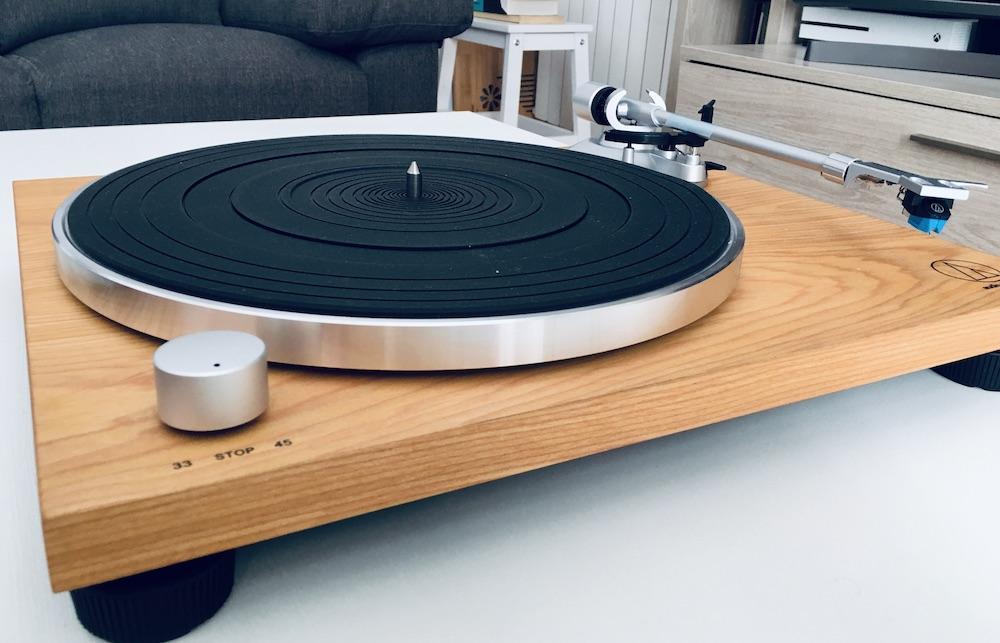 Análisis Audio Technica AT-LPW30TK: minimalismo y diseño 31