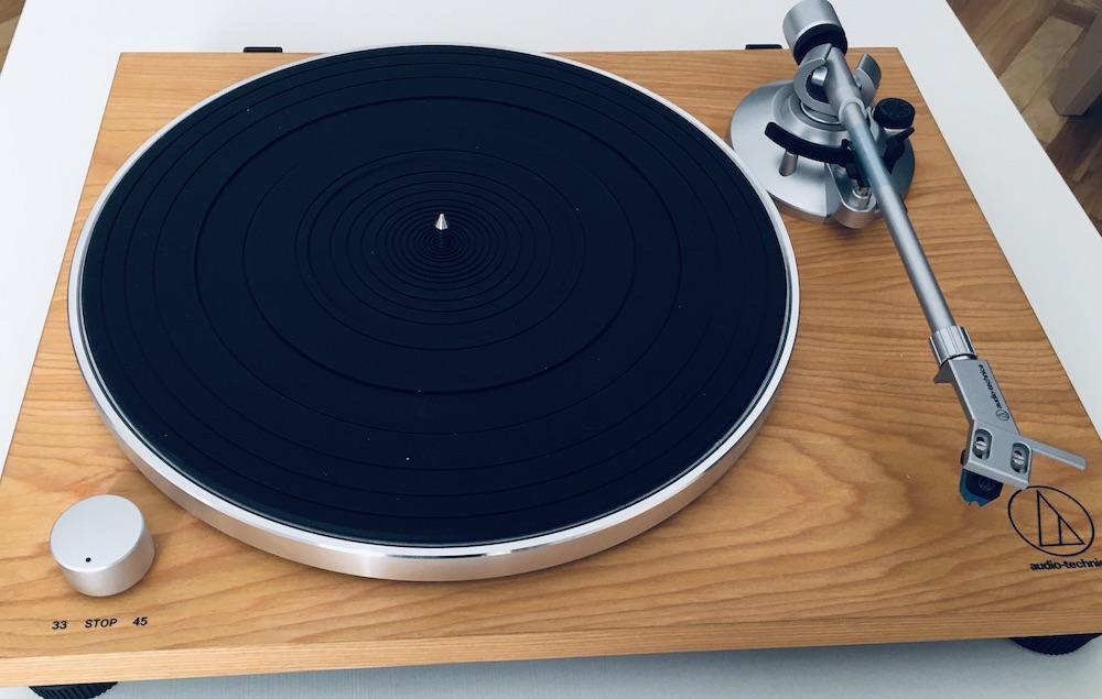 Análisis Audio Technica AT-LPW30TK: minimalismo y diseño 35