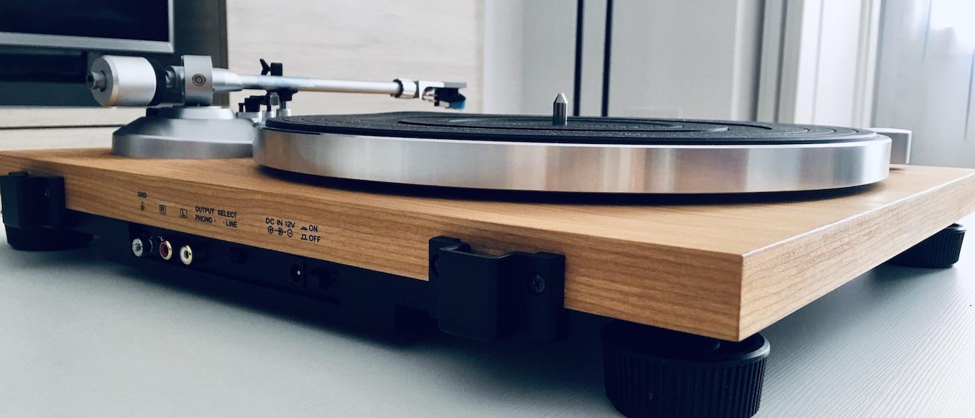 Análisis Audio Technica AT-LPW30TK: minimalismo y diseño 29
