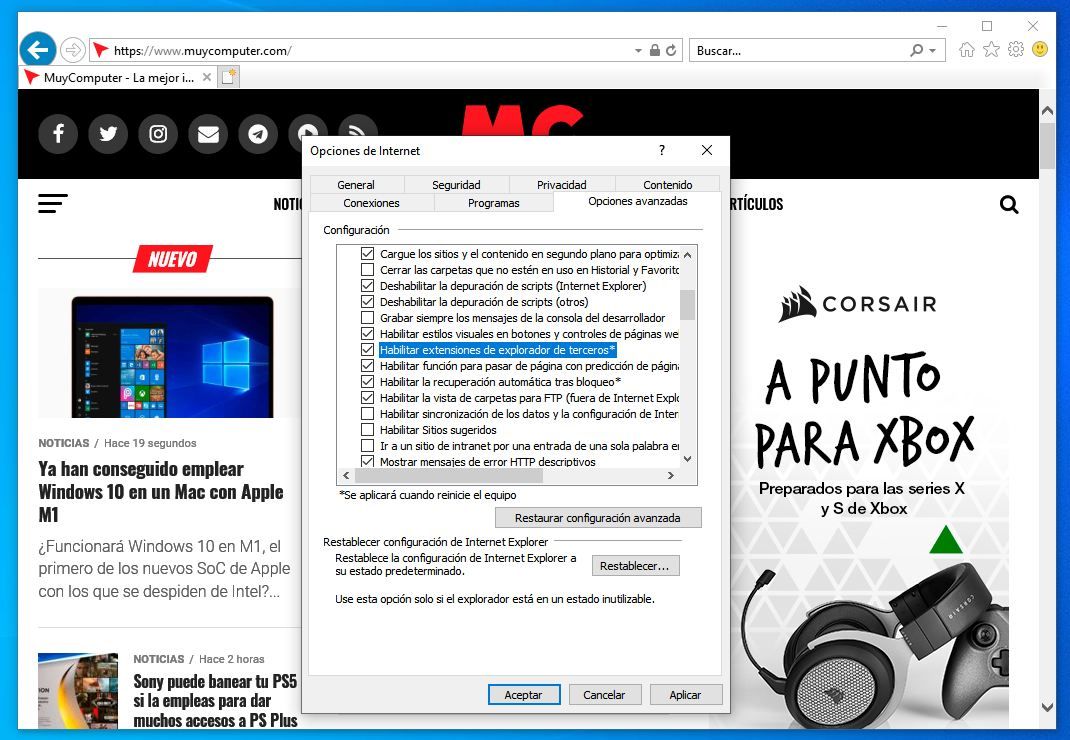 Internet Explorer - Microsoft Edge