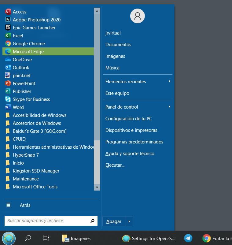 ¿Quieres usar el menú de inicio de Windows 7 en Windows 10? 33
