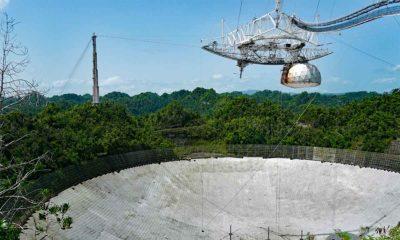 Adiós a Arecibo, el radiotelescopio más icónico ha colapsado