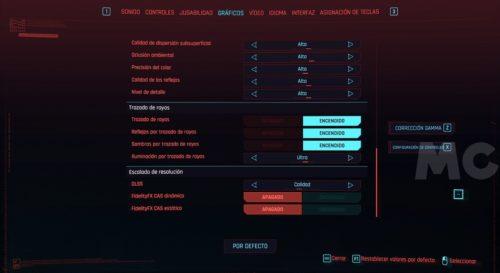 Cyberpunk 2077, rendimiento y análisis técnico en PC 36