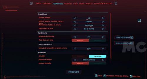 Cyberpunk 2077, rendimiento y análisis técnico en PC 32