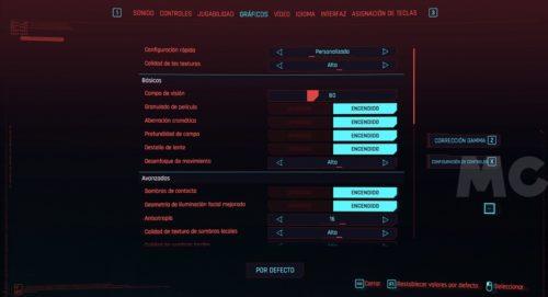 Cyberpunk 2077, rendimiento y análisis técnico en PC 34