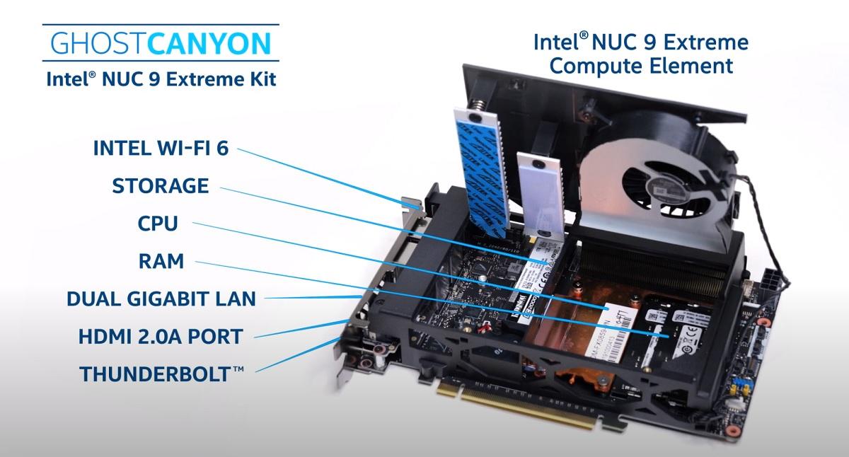 Intel NUC 9 Extreme Kit, análisis: potencia y tamaño no están reñidos 43