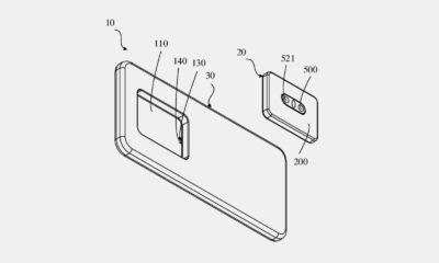 Oppo patente smartphone módulo de cámara extraíble