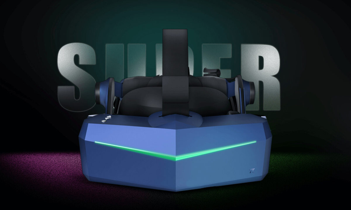Pimax 5K SUPER VR Headset 180Hz