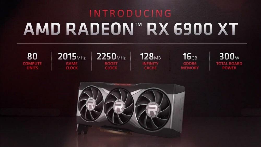 La Radeon RX 6900 XT se derrumba con trazado de rayos